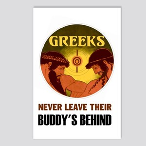 GREEKS Postcards (Package of 8)