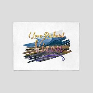 I Love Richard Nixon 5'x7'Area Rug