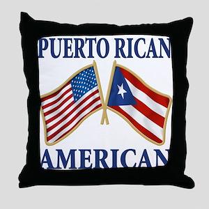 Puerto rican pride Throw Pillow