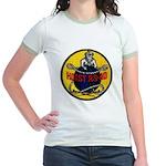 USS HOIST Jr. Ringer T-Shirt