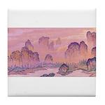 Karst Mountains Tile Coaster