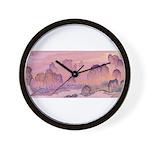 Karst Mountains Wall Clock