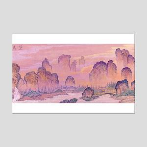 Karst Mountains Mini Poster Print