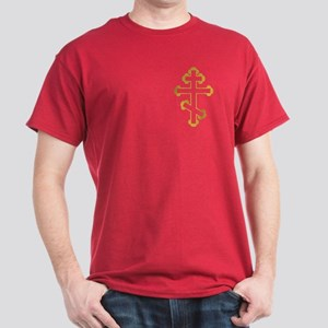Orthodox Bottony Cross Dark T-Shirt
