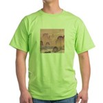 Chinese Waterfall Green T-Shirt