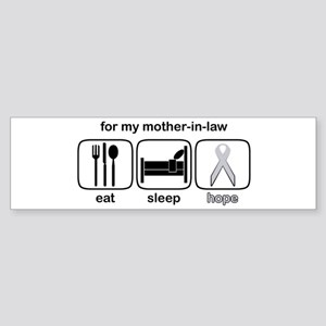 Mother-in-law ESHope Lung Bumper Sticker