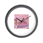 Chinese Scape Wall Clock