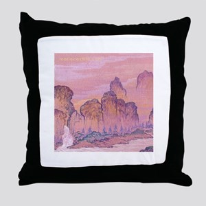 Chinese Scape Throw Pillow