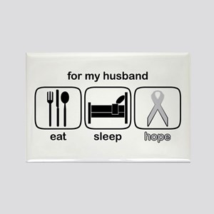 Husband ESHope Lung Rectangle Magnet