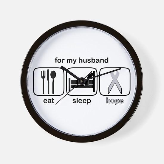 Husband ESHope Lung Wall Clock