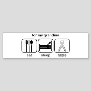 Grandma ESHope Lung Bumper Sticker
