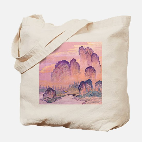 Chinese Mountains Tote Bag