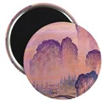 Chinese Mountains Magnet