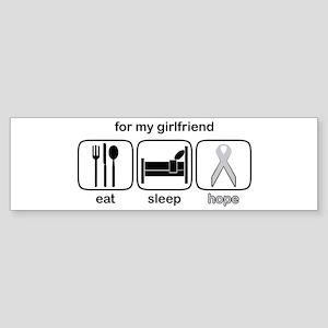 Girlfriend ESHope Lung Bumper Sticker
