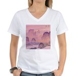 Chinese Sunrise Women's V-Neck T-Shirt