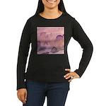 Chinese Sunrise Women's Long Sleeve Dark T-Shirt