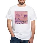 Chinese Sunrise White T-Shirt