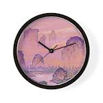 Chinese Sunrise Wall Clock