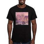 Chinese Sunrise Men's Fitted T-Shirt (dark)
