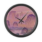 Chinese Sunrise Large Wall Clock