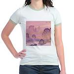 Chinese Sunrise Jr. Ringer T-Shirt