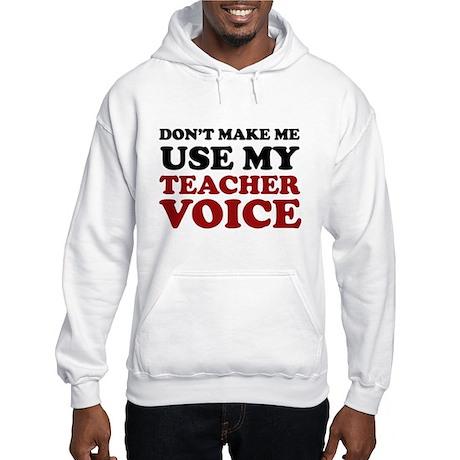 For Teachers - Hooded Sweatshirt
