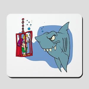 Here Fishy Fishy! Mousepad