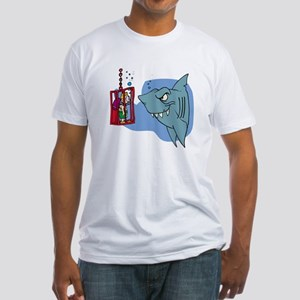 Here Fishy Fishy! Fitted T-Shirt