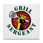 Grill Sergeant Tile Coaster