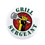 "Grill Sergeant 3.5"" Button"