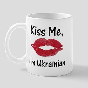 Kiss Me, I'm Ukrainian Mug