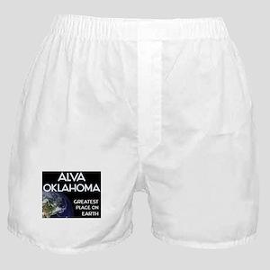alva oklahoma - greatest place on earth Boxer Shor