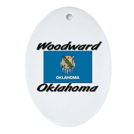 Woodward Oklahoma Oval Ornament