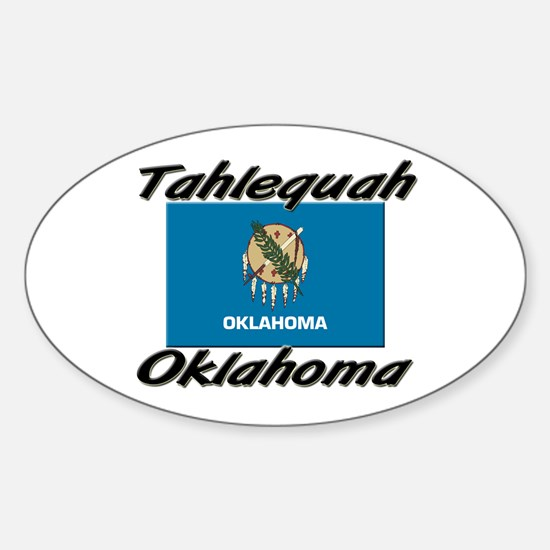 Tahlequah Oklahoma Oval Decal