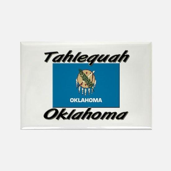 Tahlequah Oklahoma Rectangle Magnet
