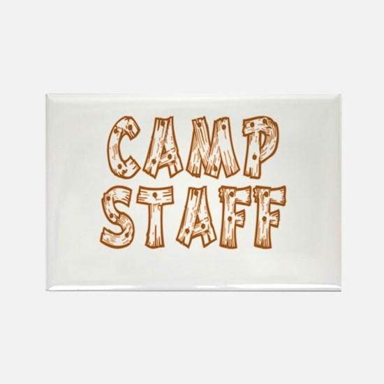 Camp Staff Rectangle Magnet (10 pack)