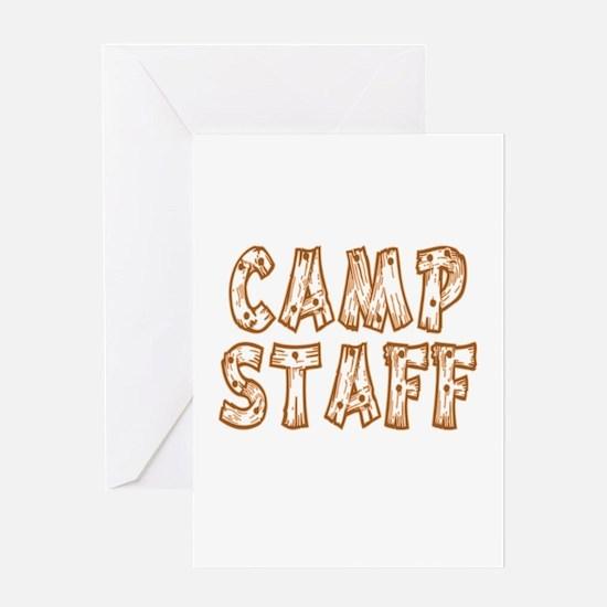 Camp Staff Greeting Card