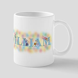 """William"" with Mice Mug"