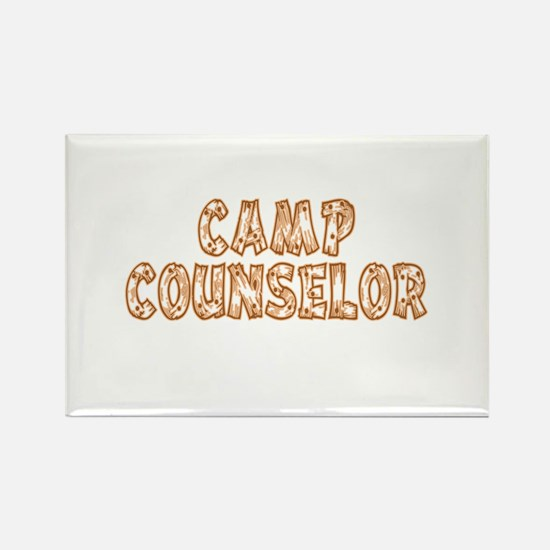 Camp Counselor Rectangle Magnet (100 pack)