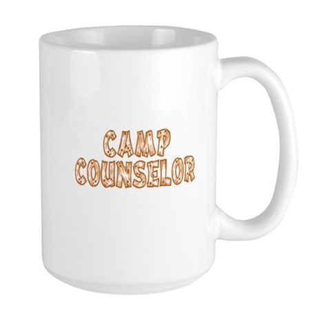 Camp Counselor Large Mug