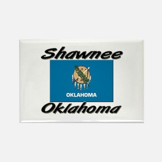 Shawnee Oklahoma Rectangle Magnet