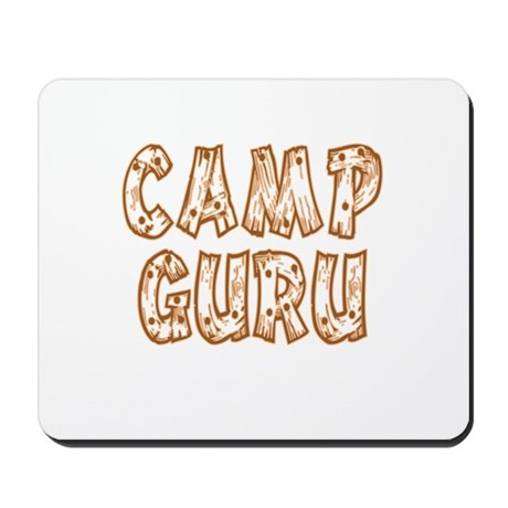 Camp Guru Mousepad