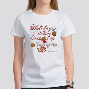 Holiday Baking Women's T-Shirt