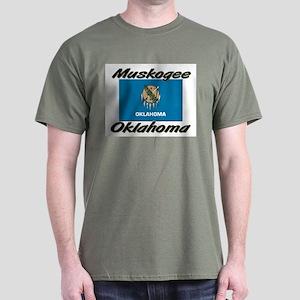Muskogee Oklahoma Dark T-Shirt