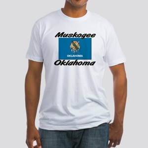 Muskogee Oklahoma Fitted T-Shirt