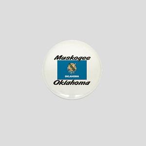 Muskogee Oklahoma Mini Button