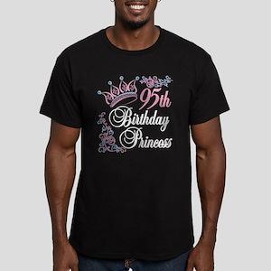 95th Birthday Princess Men's Fitted T-Shirt (dark)