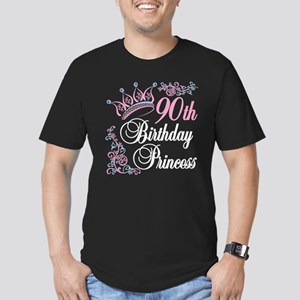 90th Birthday Princess Men's Fitted T-Shirt (dark)