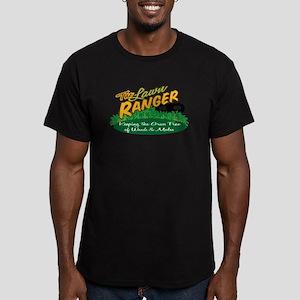 Lawn Ranger Men's Fitted T-Shirt (dark)