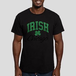 Chicago Irish Men's Fitted T-Shirt (dark)
